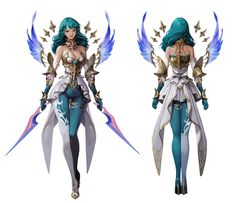 ArtStation - guardian angel, geumsil lee Character Concept, Concept Art, Character Design, Special Characters, Female Characters, Fictional Characters, Medieval, Fantasy Setting, Character Development
