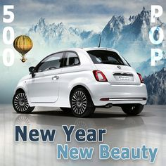 New Year. New Beauty. Get your glamour on with a hot white Fiat 500 POP! Fiat 500 Pop, Lease Specials, Spider, San Diego, Snow White, Glamour, City, Board, Beauty