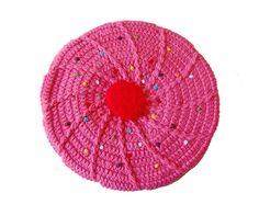 Pink Addict: For Pink Provocateurs Cute Hats, Hand Fan, Cupcakes, Crochet, Pink, Ideas, Tejidos, Beanies, Bags