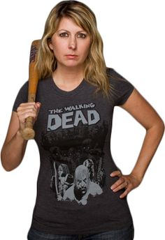 The Walking Dead - Herd Grey Female T-Shirt