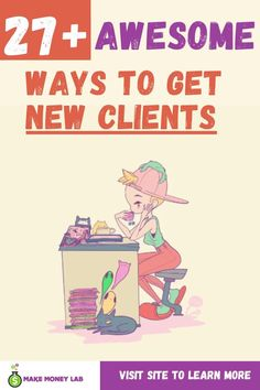 Without clients you don't really have a business. So therefore, here's a few awesome ways to get new clients. I know, it doesn't have to be hard at all, you can attract your ideal clients just by being awesome online. Click and learn the different ways to get your next client. #CoachingBusiness #BusinessResources #businesstools #consultants #Coaches #consultingbusiness #how togetnewclients #newclients #getmoreclients
