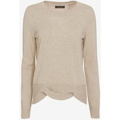 Christopher Fischer Cable Knit Hem Sweater (4 405 ZAR) ❤ liked on Polyvore featuring tops, sweaters, cableknit sweater, chunky cable knit sweater, cable knit sweater, christopher fischer sweaters and pink sweater