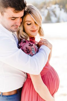 Whitney Fox | Utah Maternity Photographer | Tibble Fork | maternity gown | what to wear for maternity pictures | maternity dress | winter maternity session | snowy maternity session | maternity ideas | pregnancy | bump | bump session | beautiful maternity www.trulyphotographyut.com