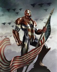 Iron Patriot Armor To Appear In Iron Man 3 -  You've probably noticed this by now, but there isn't just one kind of Iron Man suit. In fact, since 2008 the armor has appeared in three movies and there have been a grand total of eight suits: Mark I through VII and War Machine. No film with Iron Man in it has featured less than two different types of armor, and now SuperHeroHype has confirmed that yet another version will be appearing in Iron Man 3. The big question is, who will be wearing it?