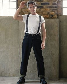 Rigwell - jeans  Design inspiration: The job of the oil rig worker is to drill through impervious rock to tap into Texas Tea. Once the oil is found, the rigger employs a semi-submersible drilling vessel to the wells. And do they rig well?  Unisex handmade clothing by LaneFortyfive  #workwear #london #style #menswear #photography #men #shirt #photoshoot #unisex #picoftheday #women #womensfashion #fashion #model #lanefortyfive #clothing #bespoke #bespoketailoring #artisan #tailoring…