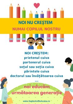 #Parenting #părinți #educație #copii Youth Activities, Emotional Intelligence, Classroom Management, My Children, Kids And Parenting, Personal Development, Good Books, Back To School, Kindergarten