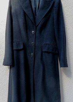 Kaufe meinen Artikel bei #Kleiderkreisel http://www.kleiderkreisel.de/damenmode/mantel/113151786-schwarzer-langer-mantel-von-zara