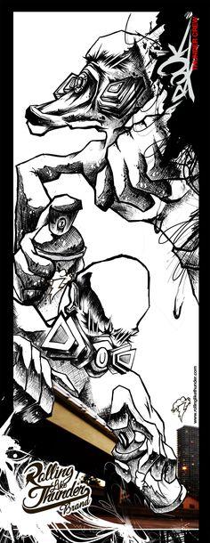 Rolling Like Thunder Poster Series  Villains   Writer  rollinglikethunder.com