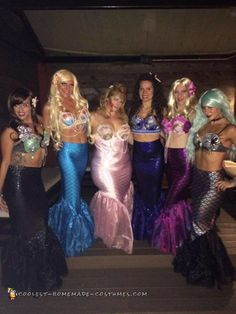 Pod of Sexy Mermaids – All Girl Group Costumes