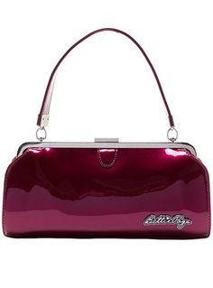 Cover Girl Purse in Burgundy Sparkle - Buy it at ShopPlasticland.com