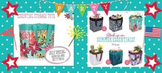 July 2014 customer special. Love the Storage Totes!!! www.mythirtyone.com/alemaster14