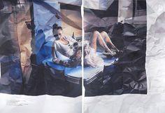 Las Asombrosas Pinturas Arrugadas de Stefania Fersini