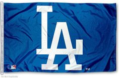 MLB Los Angeles Dodgers Wincraft 3' x 5' Blue Flag