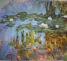 Gorgeous!! Claude Monet, Water Lilies