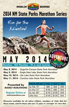 New Mexico State Parks Series  2014 Marathon