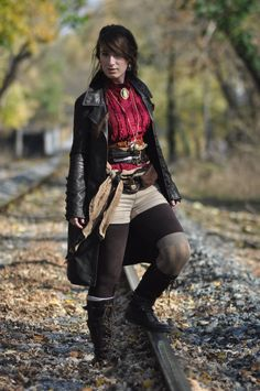 Steampunk in Harpers Ferry I by LadyduLac.deviantart.com on @DeviantArt
