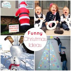 Read More About 10 FUNNY Christmas ideas you'll love! - Your Modern Family Family Holiday, Christmas And New Year, All Things Christmas, Christmas Humor, Winter Christmas, Holiday Fun, Christmas Holidays, Christmas Decorations, Christmas Ideas
