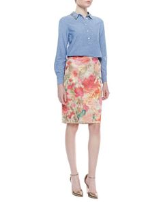 pretty pencil business casual - professional fashion | chic office style #commandress
