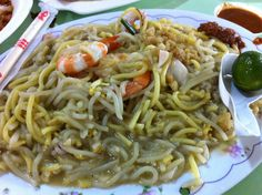 Fried Hokkien Mee a.k.a Fried Prawn Noodles @ Old Airport Road Food Centre