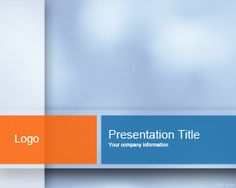 Free modern technology powerpoint template is an abstract technology light blue powerpoint template is a free light powerpoint template background combining orange and light blue wajeb Gallery