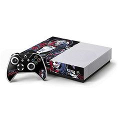 DC Comics Suicide Squad Xbox One S Console and Controller Bundle Skin  Harley Quinn Daddys Little Monster Vinyl Decal Skin For Your Xbox One S Console and Controller Bundle -- Continue to the product at the image link.Note:It is affiliate link to Amazon.