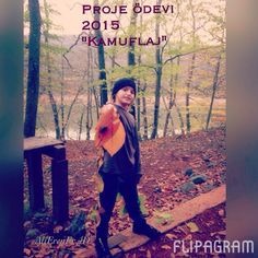 """Belgrad ormanı  Proje ödevi / """"kamuflaj""""  alierener 2015 ♫ Raving George - You're Mine (feat. Oscar and the Wolf) Flipagram ile yapıldı - https://flipagram.com/f/gevf2VkQqd"""