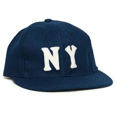 a1119e2f9d7 New York Black Yankees 1936 Vintage Ballcap. Strapback Cap ...