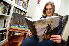 Penn State Associate Professor of English Hester Blum spent 18 hours last summer on a restored 19th-century wooden whaling ship as part of her research on and interest in maritime culture and nautical storytelling.