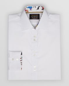 Thomas Pink Fab Four Collection Solid Dress Shirt