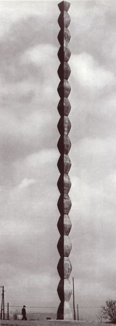 // Constantin Brancusi, Endless Column