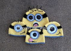 Ravelry: Minion Hat free pattern by Crochet by Jennifer