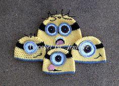 Ravelry: Minion Hat free pattern by Crochet by Jennifer
