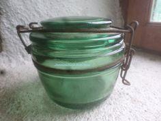 Small SOLIDEX Preserve Jar  French  Dried Food by GlassEyedGoblin