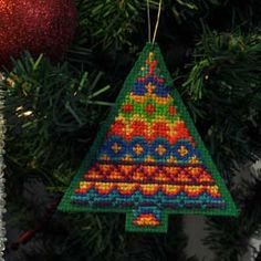 Fair Isle Inspired Christmas Tree #5