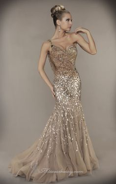 Mac Duggal 1152D Dress Available at www.missesdressy.com- I would wear this as a 25th wedding anniversary reception gown! Stunning!