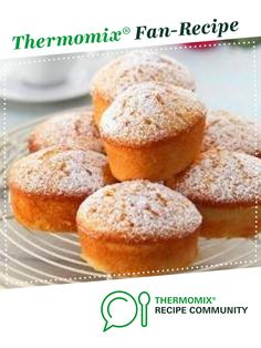 Lemon Friands by missy82. A Thermomix <sup>®</sup> recipe in the category Baking - sweet on www.recipecommunity.com.au, the Thermomix <sup>®</sup> Community.