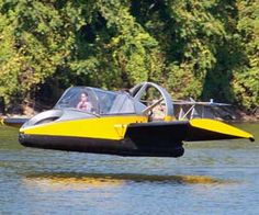 Flying hovercraft.  This is going on my Christmas wishlist.  Wonder if Santa can fit it in his sleigh lol