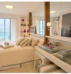 home and decoration Estilo Interior, D House, Suites, New Room, Home Decor Bedroom, Interiores Design, Home Interior Design, Small Spaces, Sweet Home
