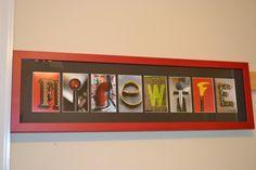personalized firefighter letter art 5 letter by firemanfotoart