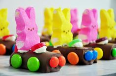 Bunny Racers crafty snack