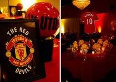 manchester united bar mitzvah theme - Google Search
