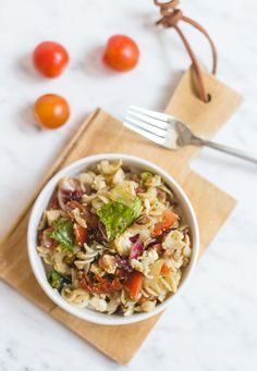 YUMMY PASTA SALAD WITH FETA