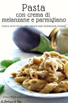 Yummy Pasta Recipes, Mexican Food Recipes, Italian Recipes, Healthy Recipes, Eggplant Pasta, Risotto, Salty Foods, Pasta Dishes, Pasta Food