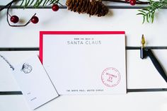 Because even Santa requires good looking stationery