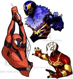 (c) Silver Spider by Deer-Head on DeviantArt Marvel Art, Marvel Heroes, Spider Art, Spider Verse, Spiderman Drawing, Spiderman Costume, Superhero Design, Wow Art, Super Hero Costumes
