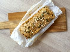 Kwarkbrood met peer – Sport Foodblog