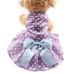 Our Tea Party Dog Dress is perfect for spring and summer walkies, parties or simple socialising with your doggy's friends. https://www.dressyourdoggy.com/collections/dresses/products/tea-party-dog-dress?variant=32512865874