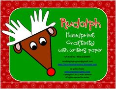 Rudolph Craftivity and Writing Paper FREE