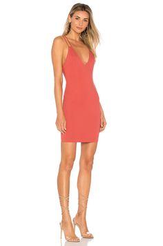 by the way. Aria Bodycon Mini Dress em Rosa empoeirado   REVOLVE