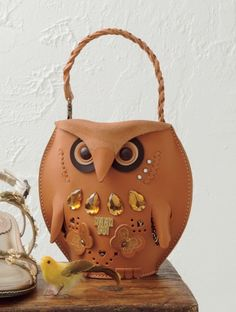 harajuju:  Anna Sui — Anna's Owl Handbag — ¥28,350 This cute and funny Anna Sui owl bag is just asking for a Mori-girl to pick it up and roc...